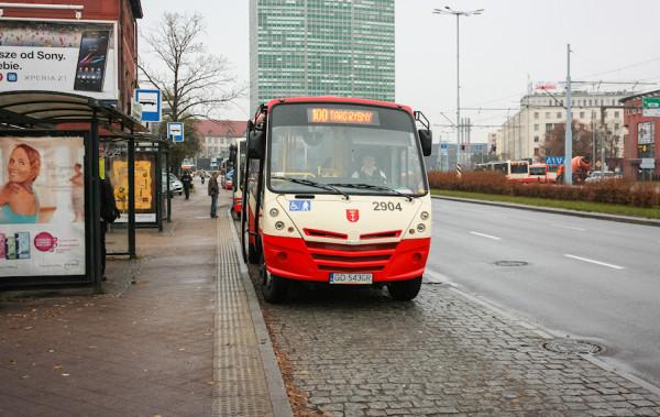 W ostatnich tygodniach linia 100 została ograniczona wyłącznie do ulic Starego Miasta.