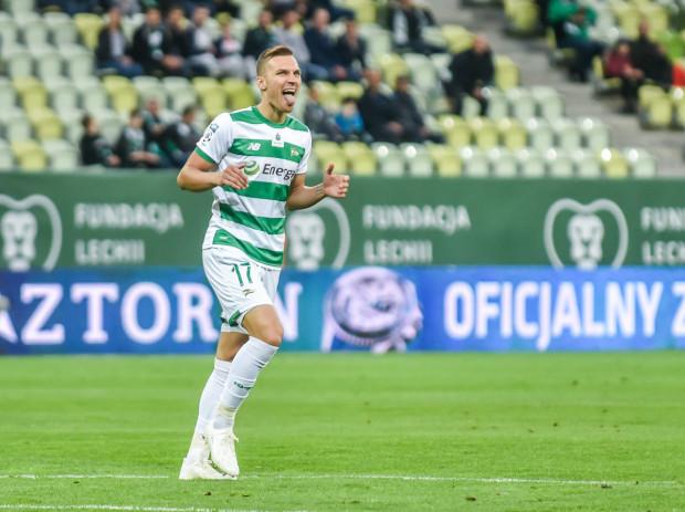 Lukas Haraslin wszedł do gry w Gliwicach w 70. minucie i zdołał uratować remis dla Lechii Gdańsk.