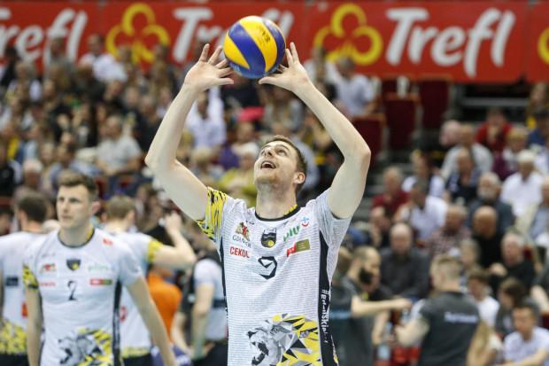 Patryk Niemiec świetnie zastąpił Piotra Nowakowskiego będą momentami liderem Trefla.