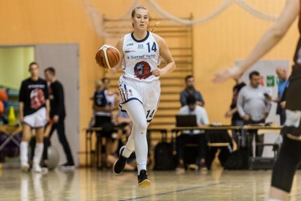 Annika Holopainen zdobyła 16 pkt dla gdańszczanek w Polkowicach.