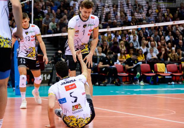 Siatkarze Trefla Gdańsk dalej mają problem z regularną grą w najważniejszych momentach meczów.