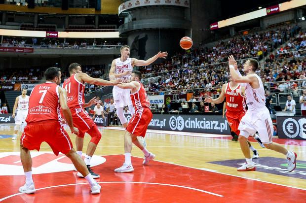 Polscy koszykarze ograli ostatnio sensacyjnie w Ergo Arenie kadrę Chorwacji. Z trybun hali obejrzało mecz niemal 3300 widzów.