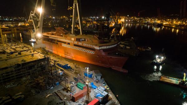 Prace wykończeniowe będą realizowanie w norweskiej stoczni Ulstein.