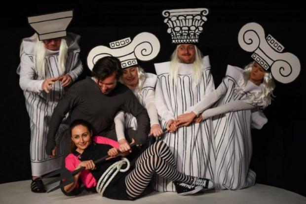 """Pierwsza premiera listopada to """"Mity greckie"""" dla widzów od lat 6 w Teatrze Miniatura (4.11)."""