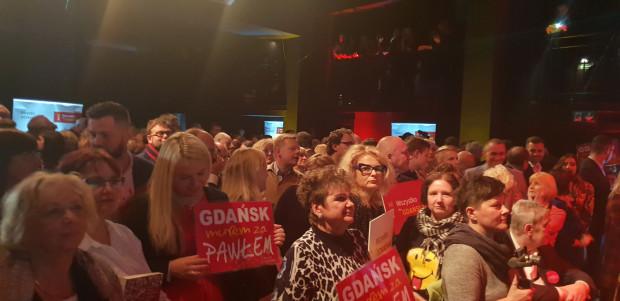 Sztab komitetu Wszystko dla Gdańska.