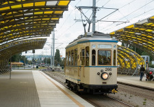 Najstarszy tramwaj jeżdżący po gdańskich torach.