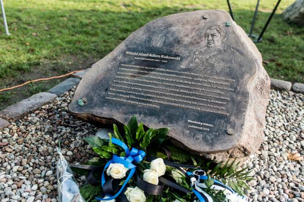 Tablica poświęcona Witoldowi Kukowskiemu 8.11.2018 Uroczystość odsłonięcia tablicy poświęconej Witoldowi Kukowskiemu