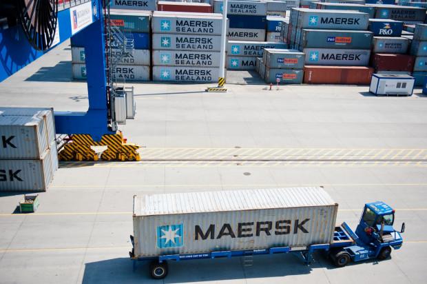 Firmy transportowe będą blokować dojazd do terminalu kontenerowego DCT. Protestują przeciwko systemowi awizacji pojazdów, który wprowadzono półtora roku temu.