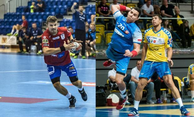 Jacek Sulej (z lewej) i jego Energa Wybrzeże w niedzielę zagrają na wyjeździe z wiceliderem rozgrywek Górnikiem. Kelian Janikowski (z prawej) i Arka w czwartek ugoszczą Chrobrego.