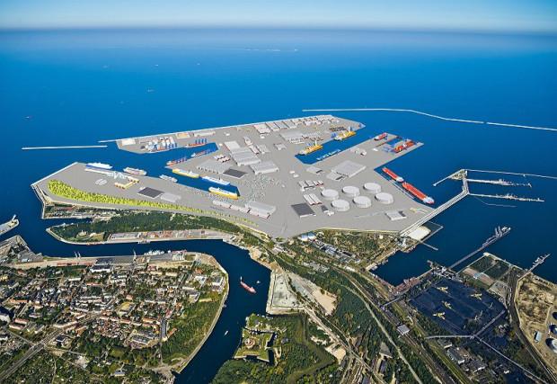 Tak ma wyglądać Port Centralny w Gdańsku, którego budowa jest na razie na etapie planów.