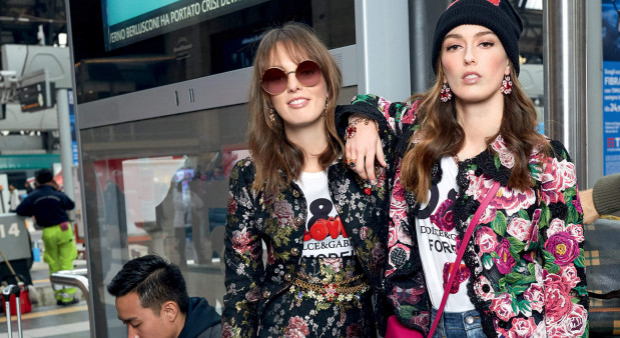 Trendy jesień-zima 2018/2019 z kolekcji Dolce & Gabbana.