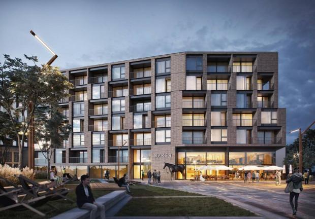 W budynku Chlebova powstanie 160 mieszkań.