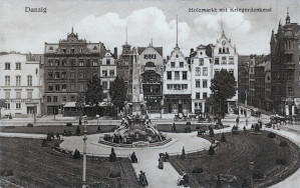 Nieistniejący pomnik na Targu Drzewnym.