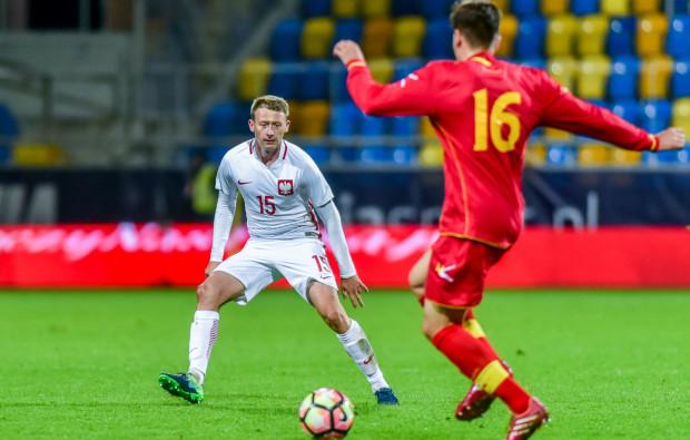 Mimo pozycji lidera ekstraklasy, Lechia nie ma obecnie swojego reprezentanta w kadrze narodowej. Na zdjęciu jeden z wyróżniających się graczy gdańskiego klubu Jarosław Kubicki, jeszcze z czasu gry w reprezentacji młodzieżowej.