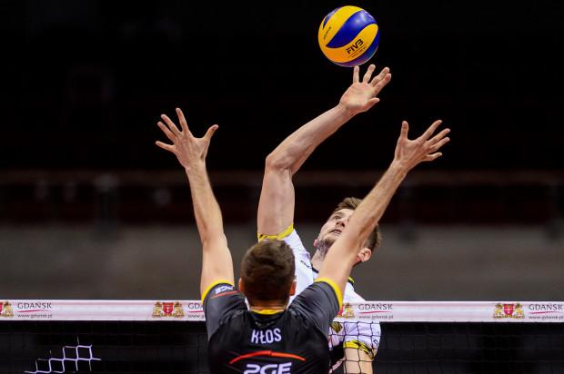 Piotr Nowakowski trzymał w grze Trefla Gdańsk, to jednak środkowy PGE Skry Bełchatów Karol Kłos został MVP meczu.