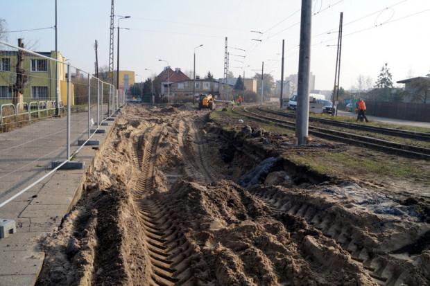 Przebudowa dróg na Stogach.