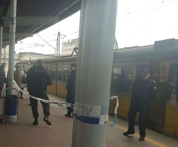 Do zdarzenia doszło w poniedziałek na stacji Gdynia Główna.