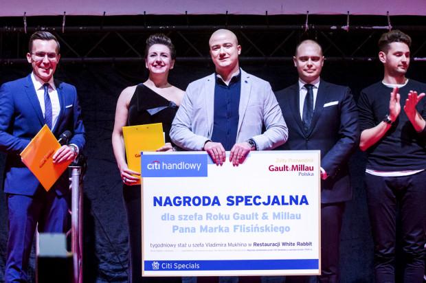 Marek Flisiński, szef kuchni w restauracji Water&Wine z Nałęczowa otrzymał tytuł Szefa Roku 2019