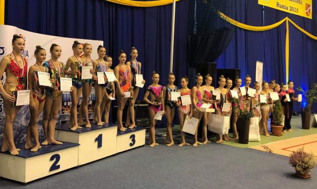 Najlepsze w Polsce drużyny gimnastyki artystycznej juniorek.
