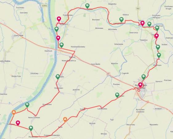 Zobacz trasę naszej wycieczki, ściągnij ślad GPS