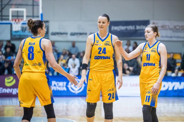 Aldona Morawiec (nr 11) będzie mogła w najbliższych meczach złapać pewność siebie i spróbować zastąpić w polskiej rotacji Arki kontuzjowaną Paulinę Misiek.