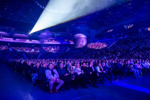 Na widowni zasiadło przeszło 7 tys. osób.