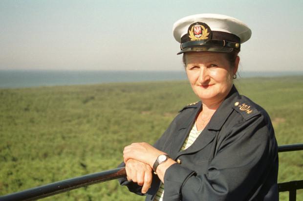 Weronika Łozicka przez lata pracowała jako latarnik w latarni Stilo.