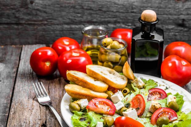 Dieta śródziemnomorska przynosi bardzo dobre wyniki prozdrowotne.