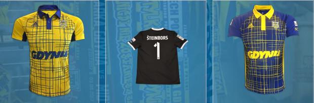 Kibice Arki mogą nabyć identyczne koszulki jak te, w których grają piłkarze.