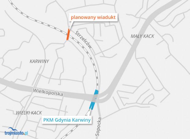 Tu powstanie wiadukt dostępny dla pieszych i rowerzystów lub także dla kierowców aut.