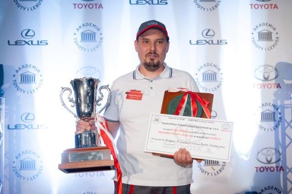 Grzegorz Michalczuk z Toyoty Walder.