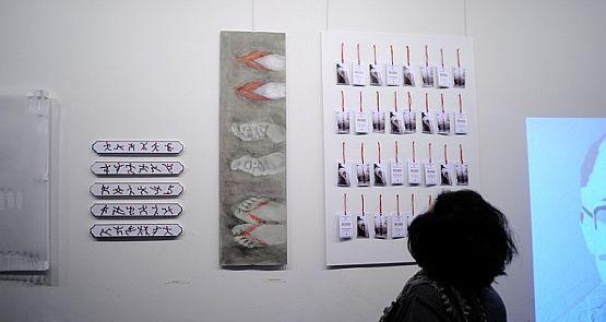 """Główną zaletą wystawy """"Made in China"""" jest różnorodność pokazywanych prac."""