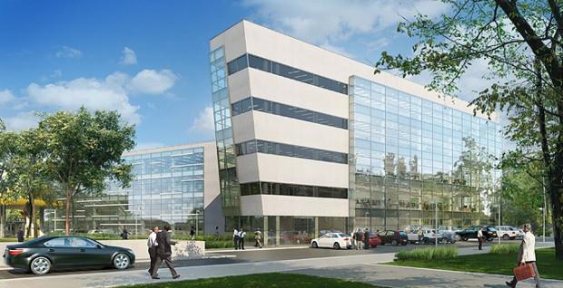 Budynek będzie składać się z dwóch skrzydeł - trzy- i czteropiętrowego.