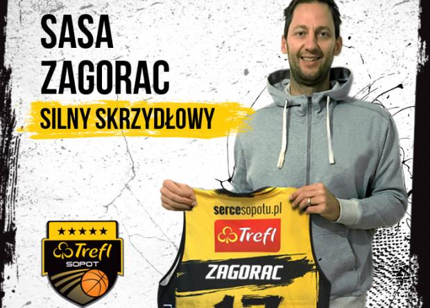 Sasa Zagorac ma być trzecim wartościowym podkoszowym w Treflu.