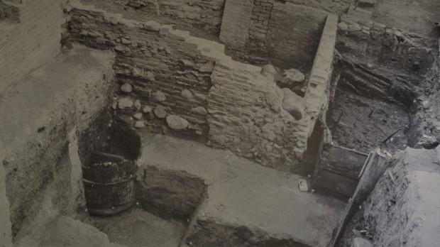 Miejsce wykopalisk przy ul. Świętojańskiej