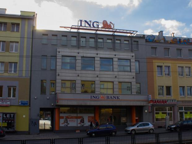 """Od prawie dwóch dekad w budynku dawnego """"Sezamu"""" działa oddział ING Banku."""