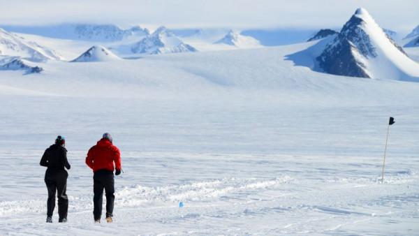 W takich warunkach pokonuje się zimowe, ekstremalne maratony.