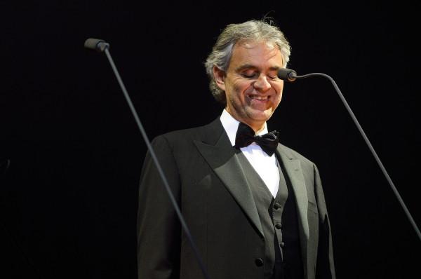 Andrea Bocelli wystąpi w Ergo Arenie 26 stycznia. Zostały ostatnie bilety.