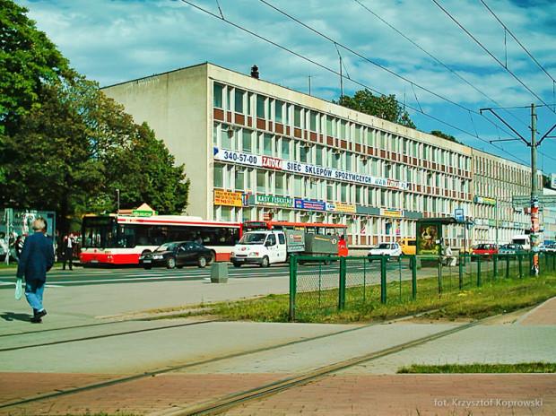 2004 r. Biurowiec przy al. Grunwaldzkiej. Dzisiaj stoi tutaj Galeria Bałtycka.