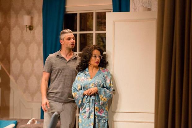 """""""Przygoda z ogrodnikiem"""" to komedia z wieloma znanymi aktorami na scenie. Przedstawienie zobaczyć można na Scenie Teatralnej NOT w walentynki."""