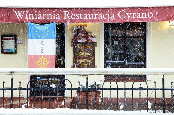 Cyrano et Roxane to kameralna francuska tawerna w Sopocie.