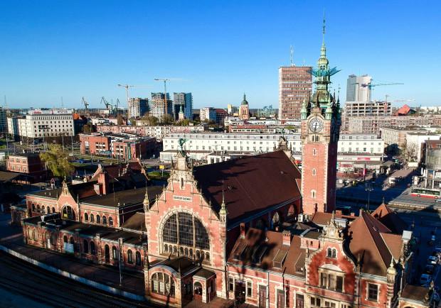 Na realizację czeka przebudowa dworca w Gdańsku Głównym.