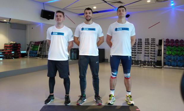 Od lewej: Adam Zagórski, Łukasz Marszałkowski oraz Jacek Czeczot, czyli osoby, które stworzyły RunCamp.