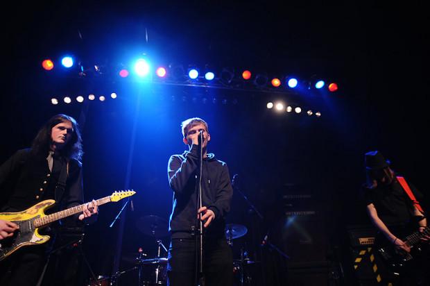 The Dionysos na koncercie w gdyńskim klubie Ucho w 2010 roku.
