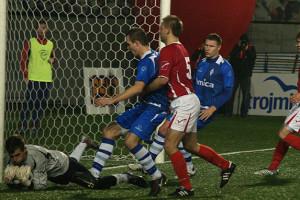 Od zwycięstwa rozpoczęli serię trzech meczów z rzędu na Narodowym Stadionie Rugby piłkarze Bałtyku.