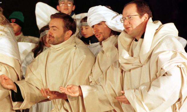 Uroczystość Trzech Króli w 1998 roku.