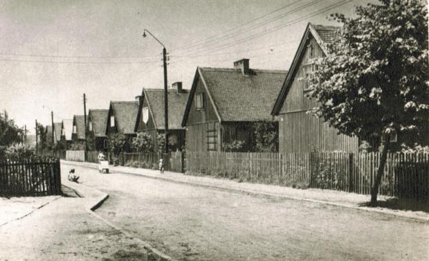 Osiedle fińskich domków we Wrzeszczu, 1958 rok.