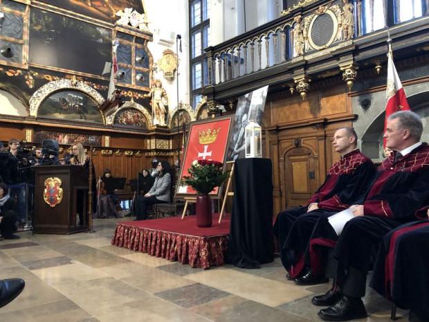 Sesja Rady Miasta Gdańska w Dworze Artusa.