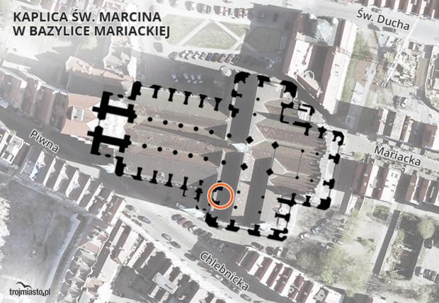 Urna z prochami prezydenta zostanie złożona w kaplicy św. Marcina w bazylice Mariackiej.