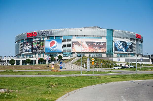 Ergo Arena, oddana do użytku rok wcześniej niż stadion, była już gospodarzem m.in. mistrzostw świata i Europy siatkarzy oraz mistrzostw Europy piłkarzy ręcznych.
